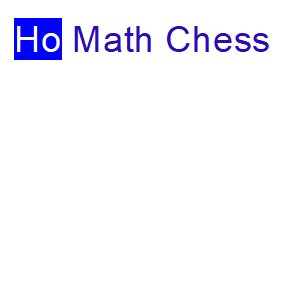 Ho Math Chess Tutoring Centre