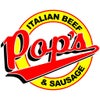 Pop's Italian Beef and Sausage Logo