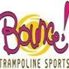 Bounce! Trampoline Sports Franchise Logo