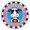 Happy Cow Frozen Yogurt Logo