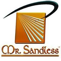 Mr. Sandless/Dr. DecknFence Logo