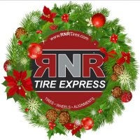 RNR Tire Express & Custom Wheels Logo