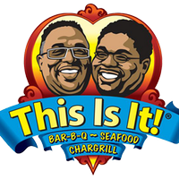 This Is It! Bar-B-Q & Seafood Logo