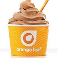 Orange Leaf Frozen Yogurt Logo
