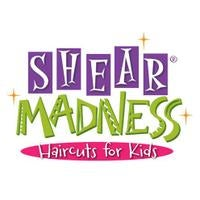 Shear Madness Haircuts for Kids Logo