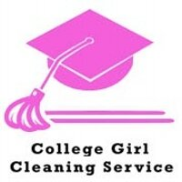College Girl Cleaning Service Logo