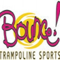 Bounce! Trampoline Sports Franchise Logo