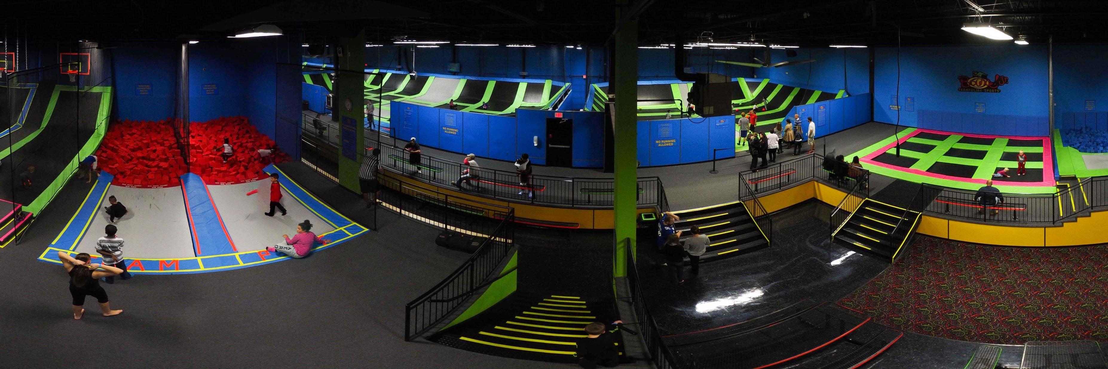 Bounce! Trampoline Sports Franchise
