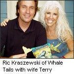 Ric Kraszewski of Whale Tails with wife Terry