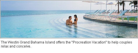 The Westin Grand Bahama Island offers the 'Procreation Vacation'