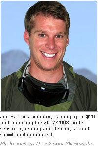 Joe Hawkins: Door 2 Door Ski Rentals