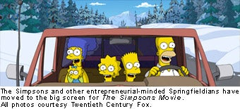 The Simpsons - Car