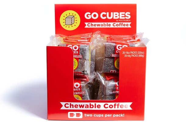 We Got Buzzed Up With These Caffeinated Gummy Cubes Here S What We