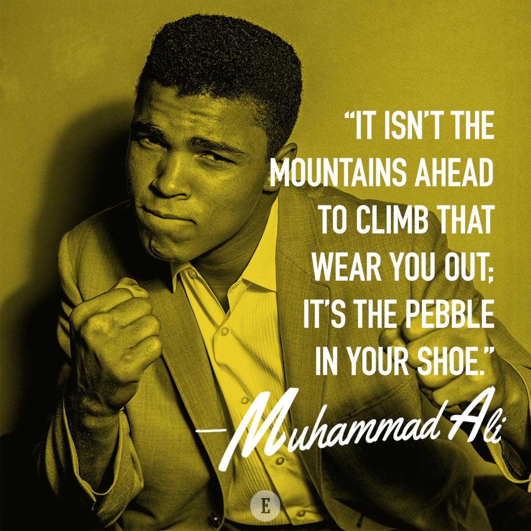 Best Motivational Sports Quotes Of All Time: Muhammad Ali's Greatest Quotes Of All Time