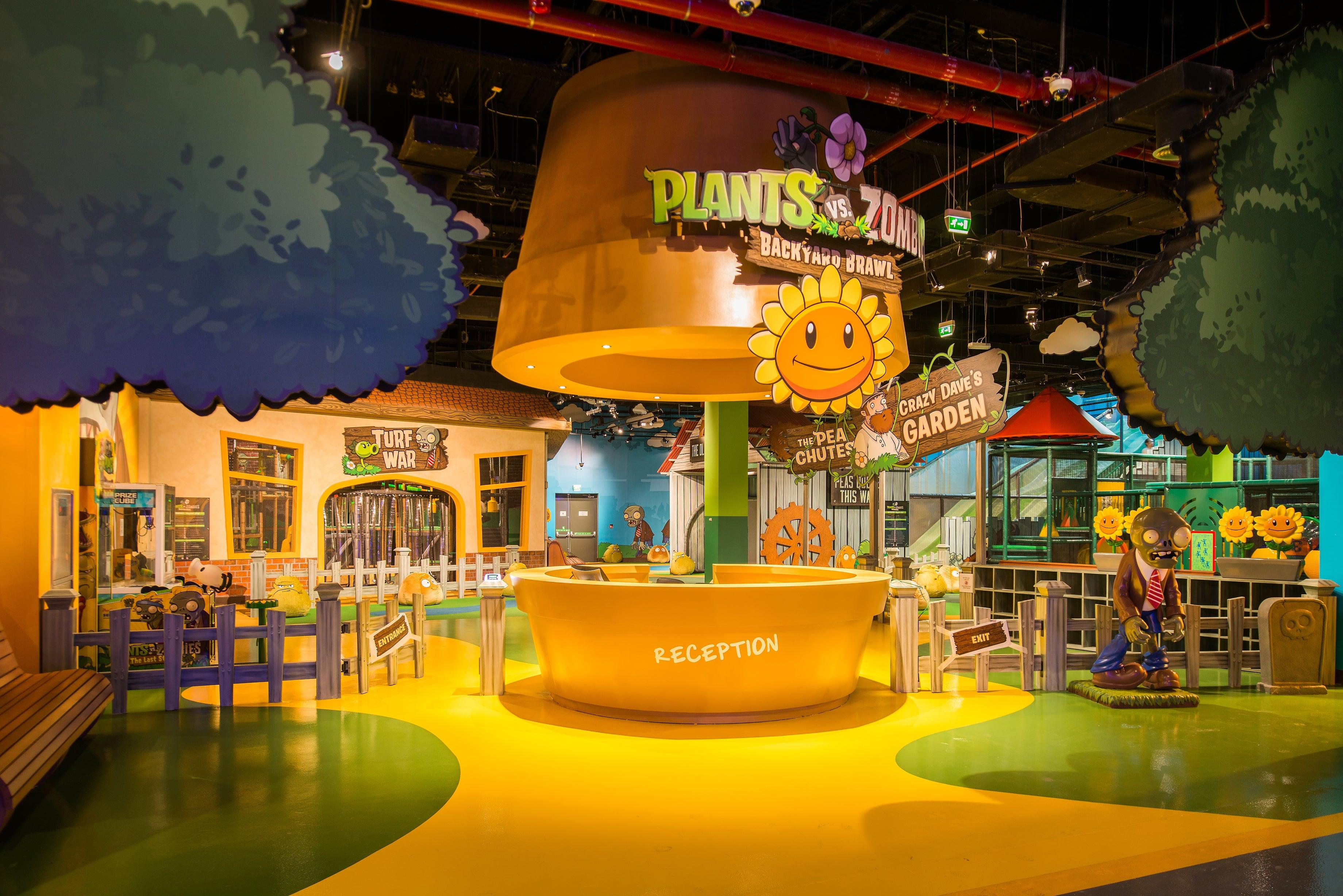 Hub Zero Dubai S New Gaming Theme Park Launches