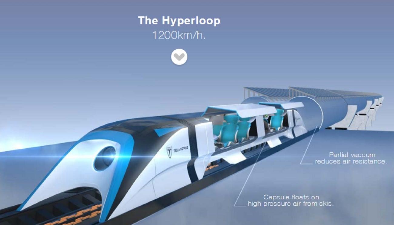 Dubai To Fujairah In Ten Minutes Hyperloop Could Make It