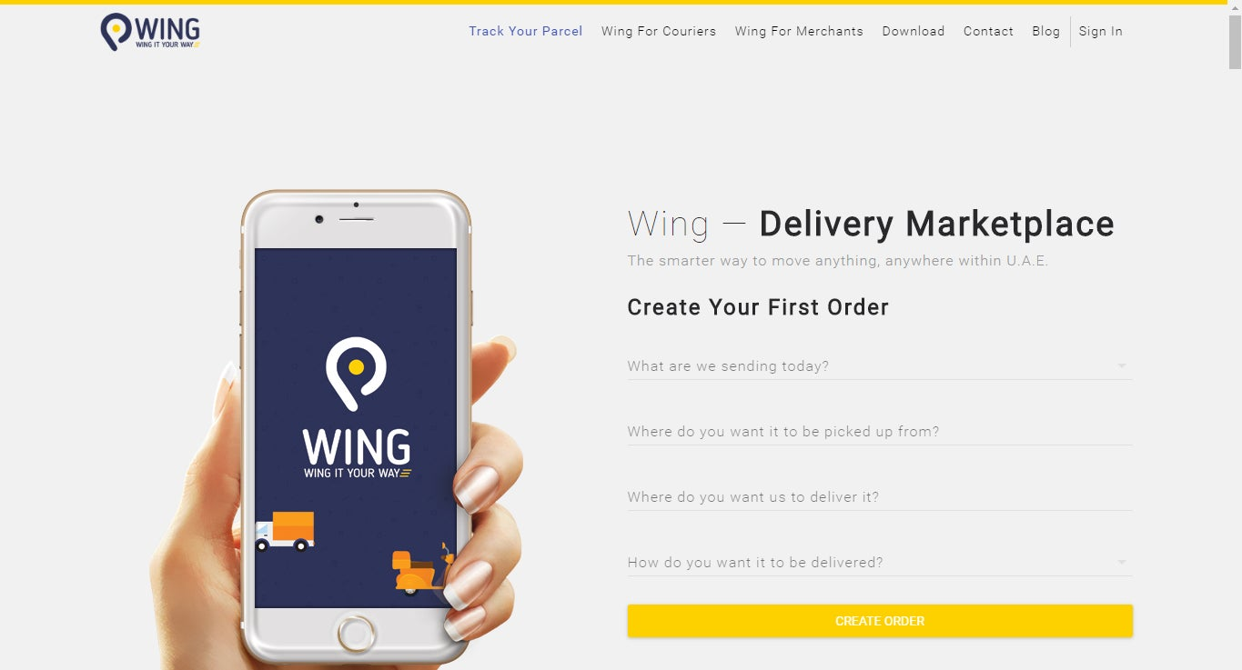 Logistics Startup WING ae Raises Seed Funding From Souq com