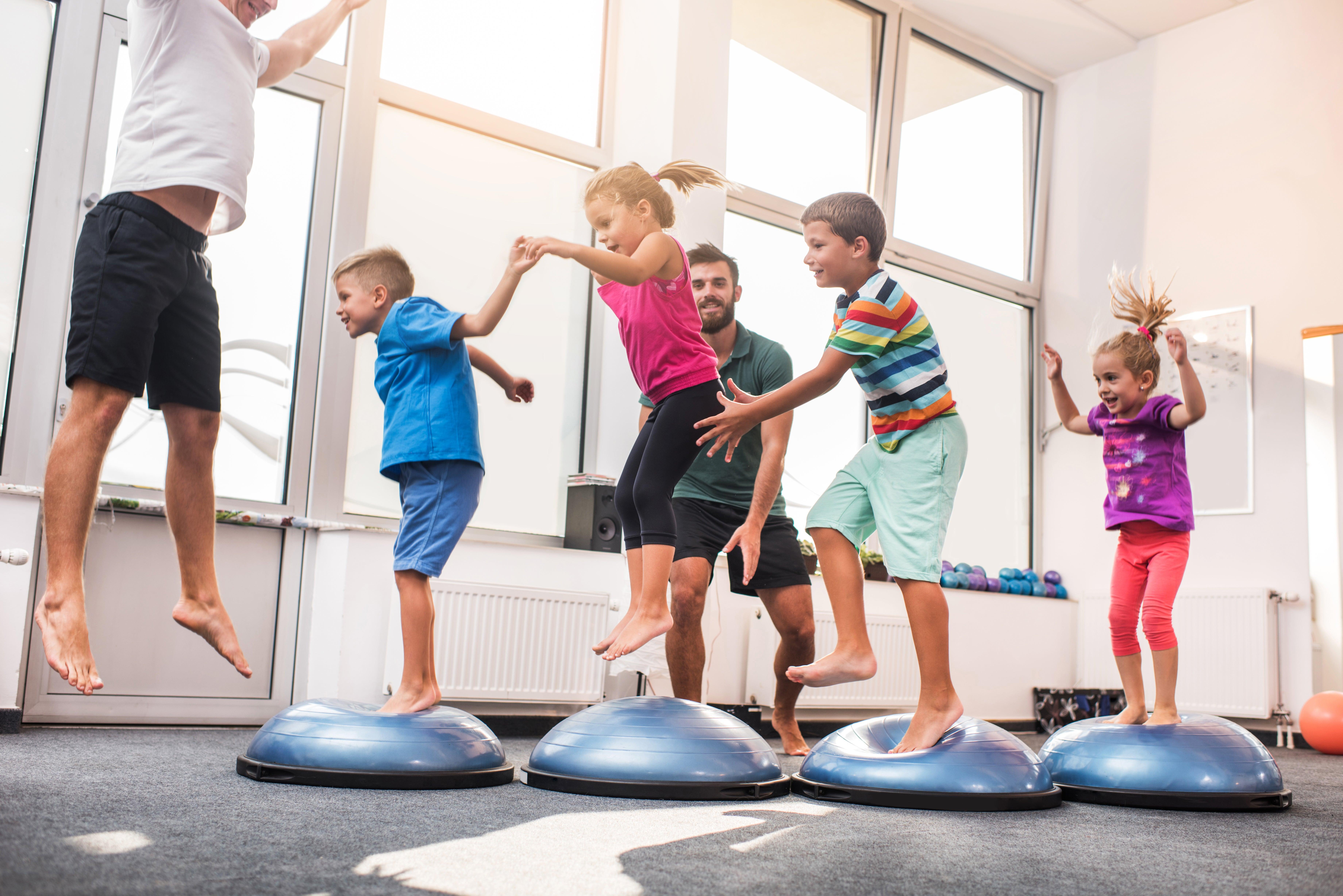 kid's fitness class