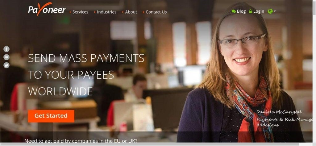 Transferts de fonds internationaux - Payoneer USA