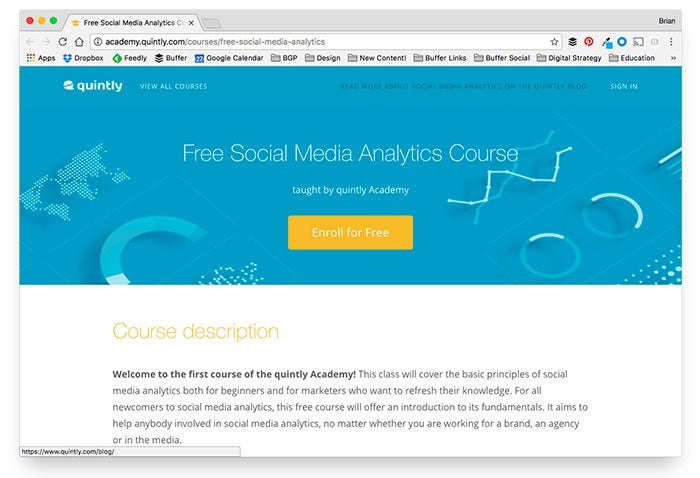 37 Free Online Marketing and Social Media Classes to Elevate