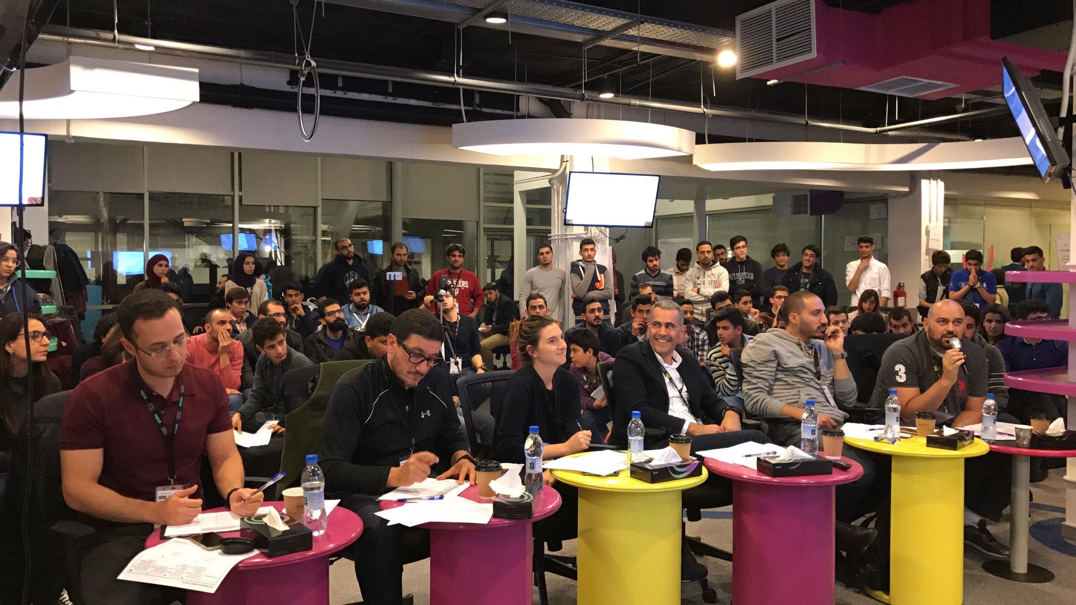 setting an example zain ceo ahmad hanandeh examples of such activities include startup competitions entrepreneurship workshops hackathons and speaker series