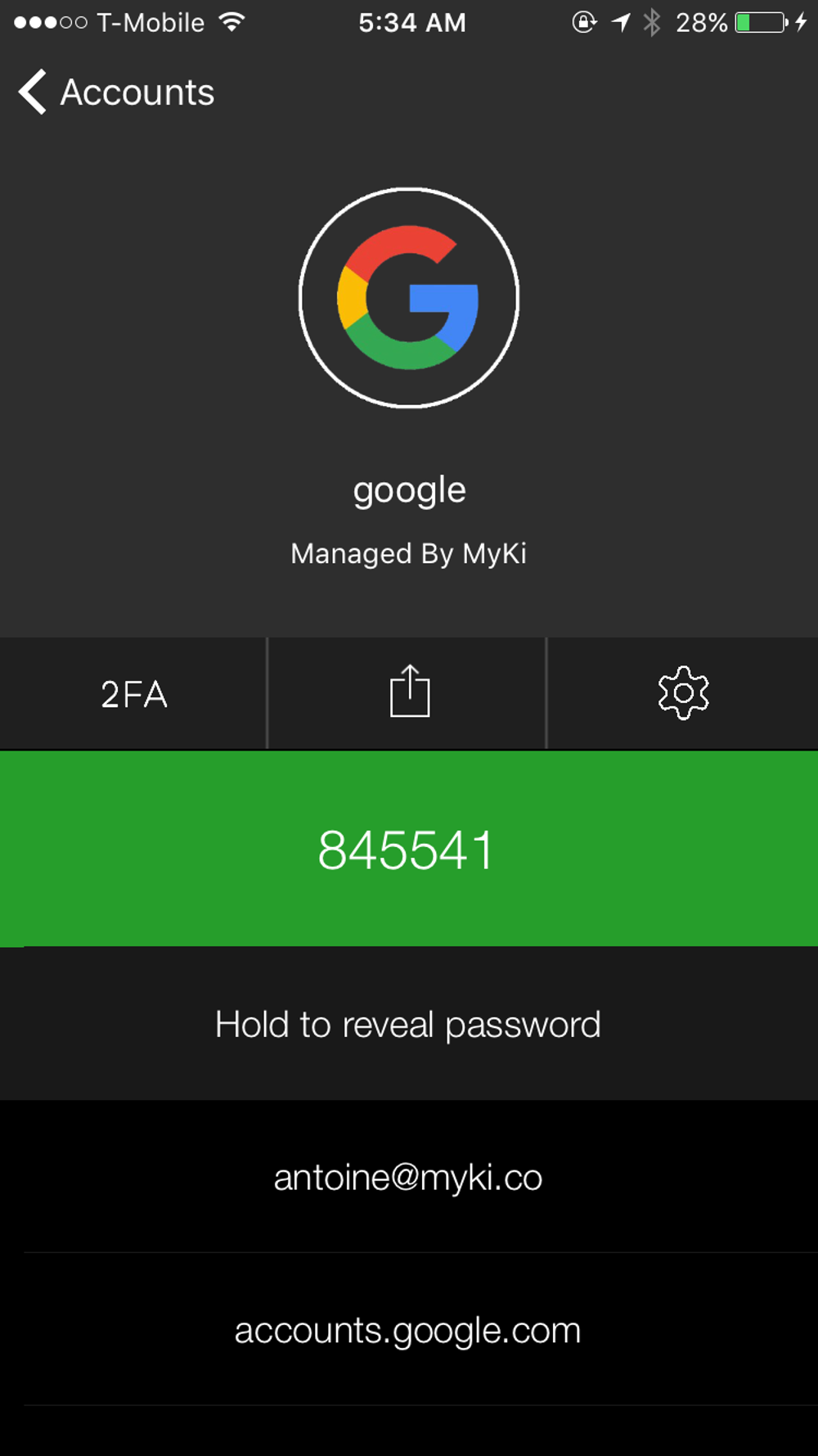 RIP Passwords: Myki Wants To Alter The Way Access Is Managed In The