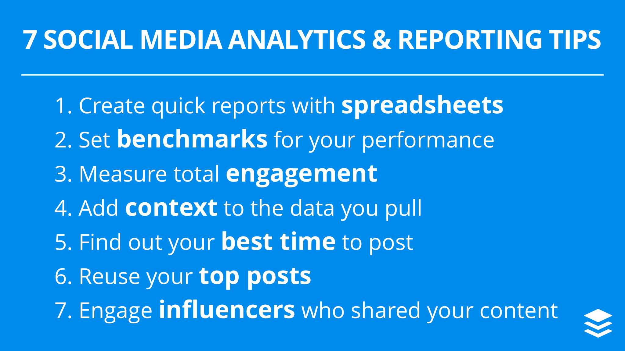 7 Social Media Analytics and Reporting Tips for Becoming a Data-Savvy Marketer