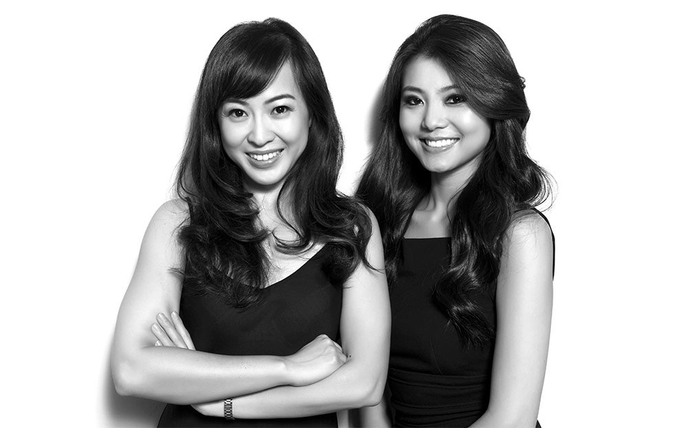 SENREVE Co-founders Coral Chung and Wendy Wen