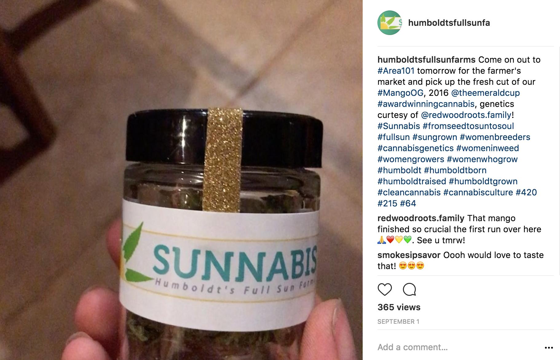 Sunnabis Farms Humboldt