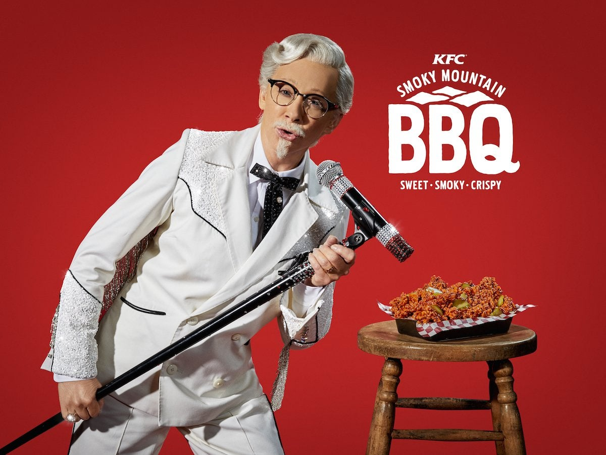 84cb427325bb8 KFC Just Revealed Reba McEntire Will Be Its First Female Colonel Sanders