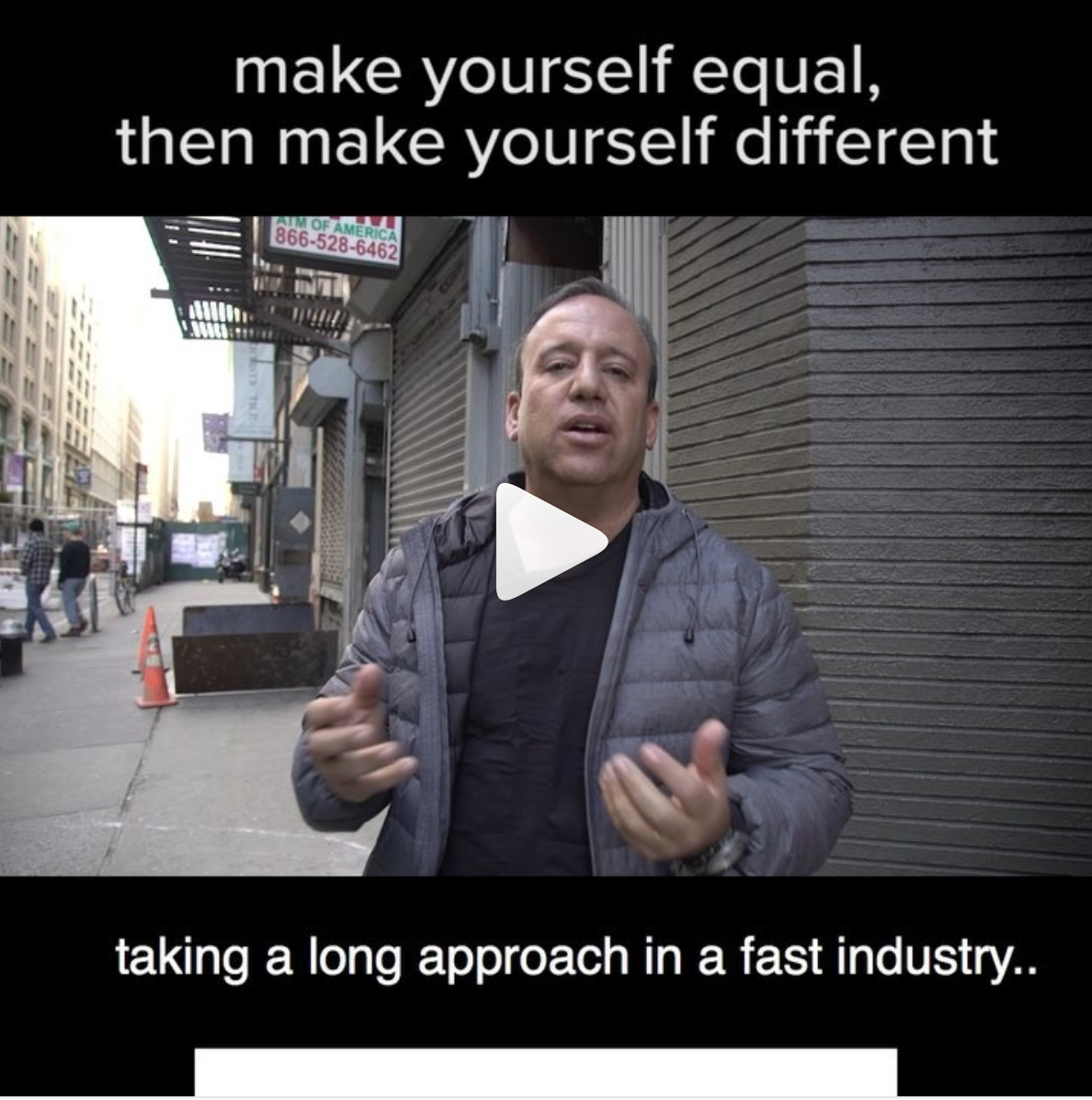 How to Stand Out: Make Yourself Equal and Then Make Yourself Different