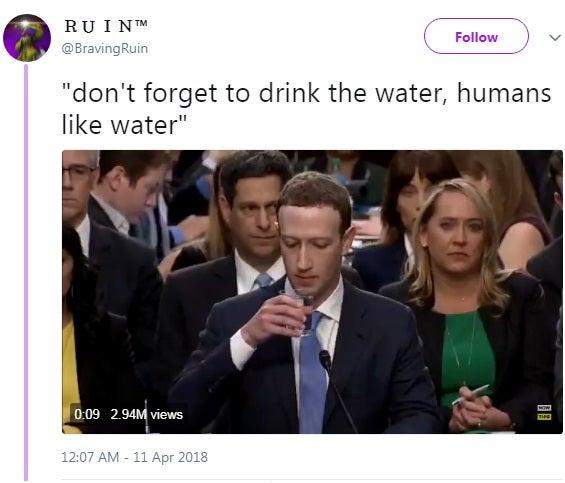 Mark Zuckerberg is the New Favourite Meme on Social Media