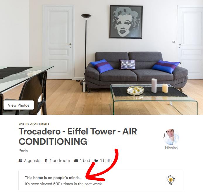 Countdown Landing Page - Airbnb