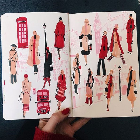 How This Instagram Artist Turned Her Passion For Fashion Into A Freelance Career