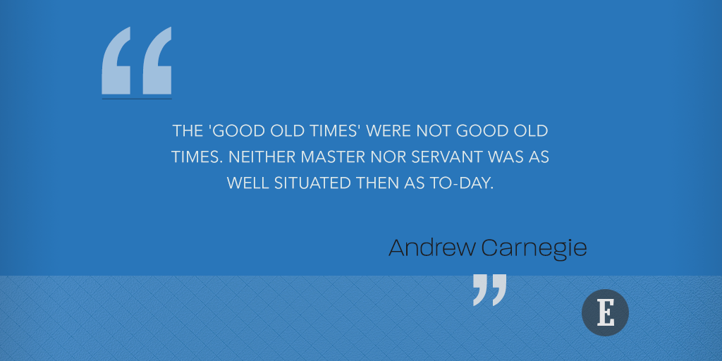 11 Great Quotes on Money From Andrew Carnegie's 'The Gospel