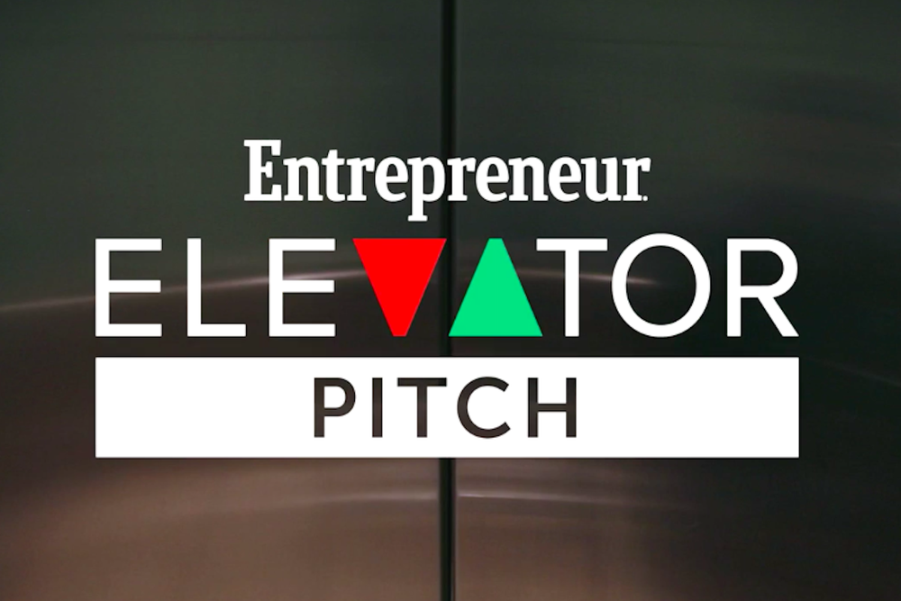 Entrepreneur Elevator Pitch