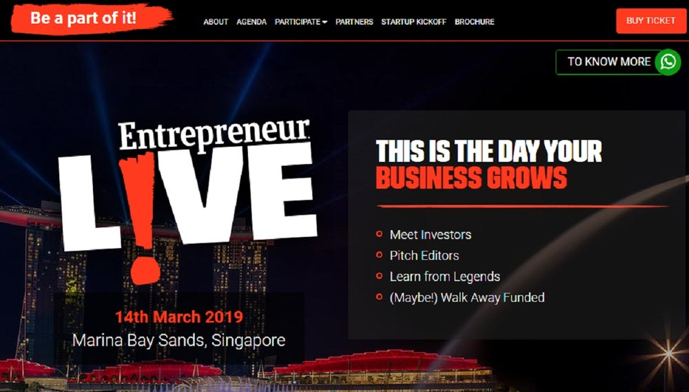 Do You Have the Next Big Idea? Join Us at Entrepreneur LIVE