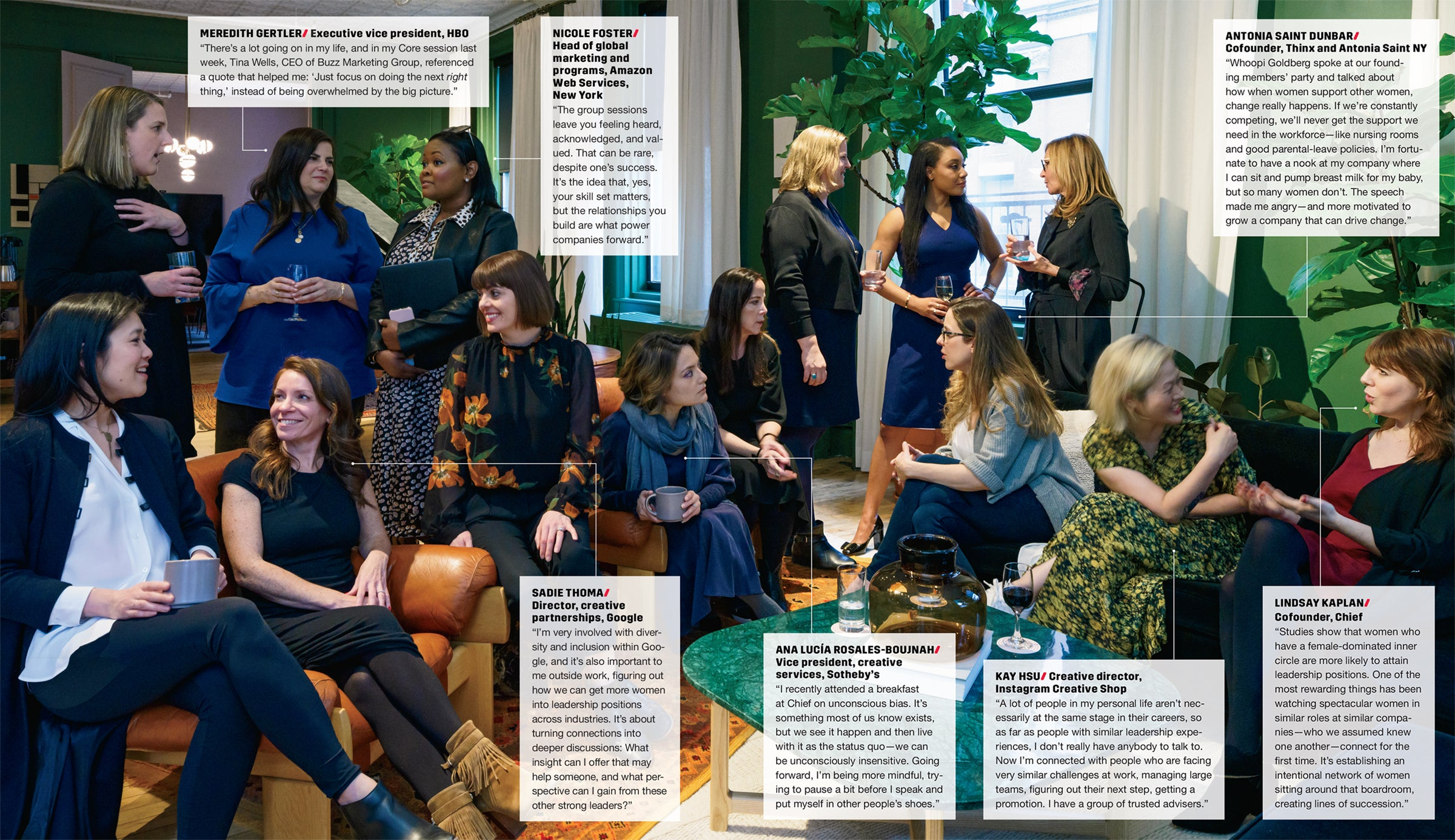 At Chief, the Club for Female Executives, High-Powered Women Aim to