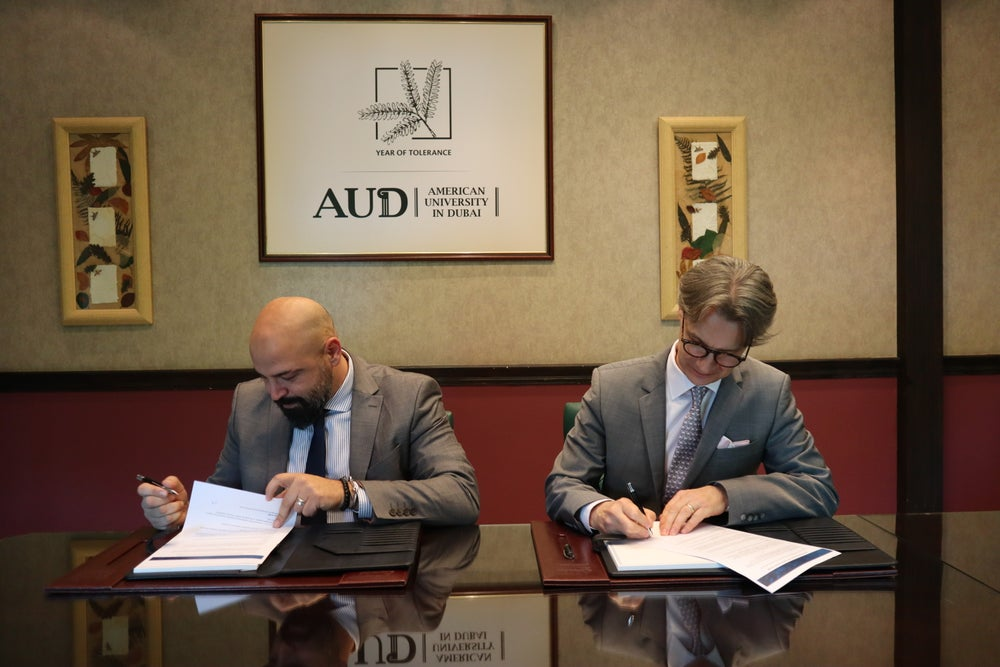 Entrepreneur Middle East Inks MoU With The American University In Dubai