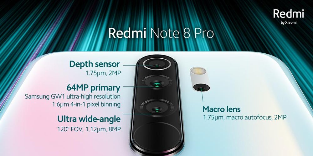 Redmi Note 8 Pro With 64 Megapixel Quad Camera To Be Launched On October 16