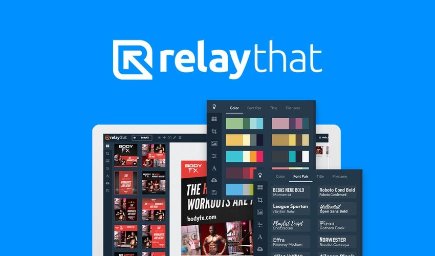 RelayThat business app.