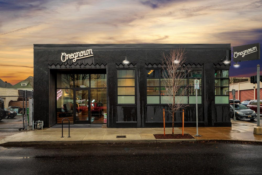 Oregrown's storefront in Portland, Oregon, opens January 23, 2020. (Image Credit: Nick Grier/Oregrown)