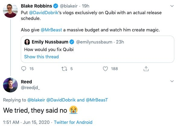 , What Can Marketers Learn From Quibi's Failure?, Saubio Making Wealth