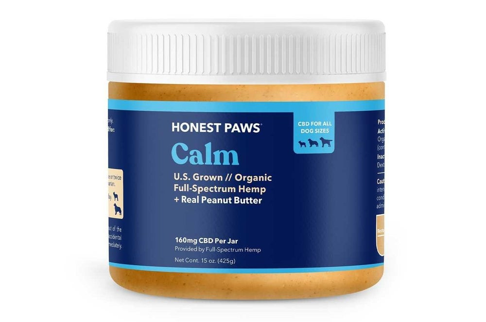 Honest Paws CBD Peanut Butter for Pets