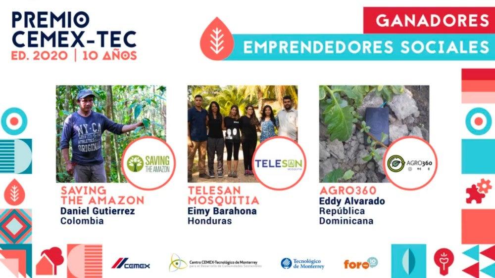 Reconoce CEMEX-Tec proyectos que buscan transformar el mundo   Noticias de Buenaventura, Colombia y el Mundo
