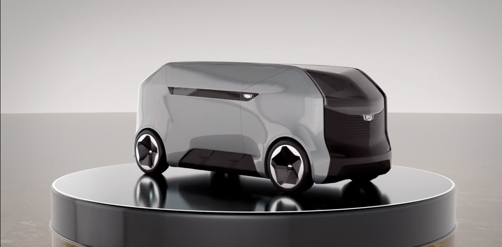 This is the new Cadillac presented by General Motors, it has the ability to land on rooftops and travel at 90 km / hr