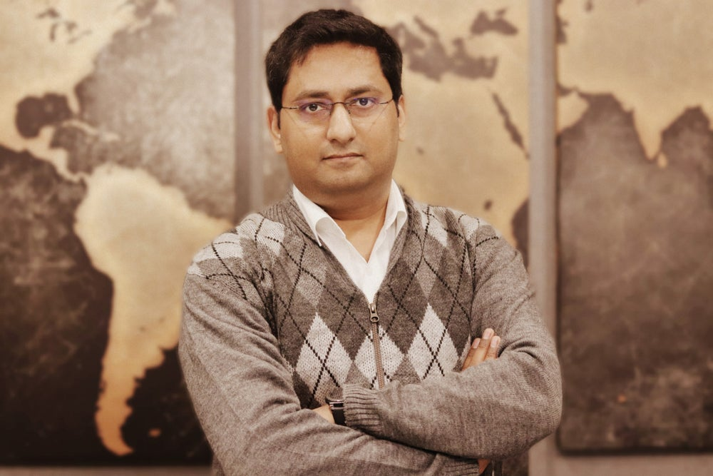 Himanshu Gupta, Founder and CEO, Lawyered