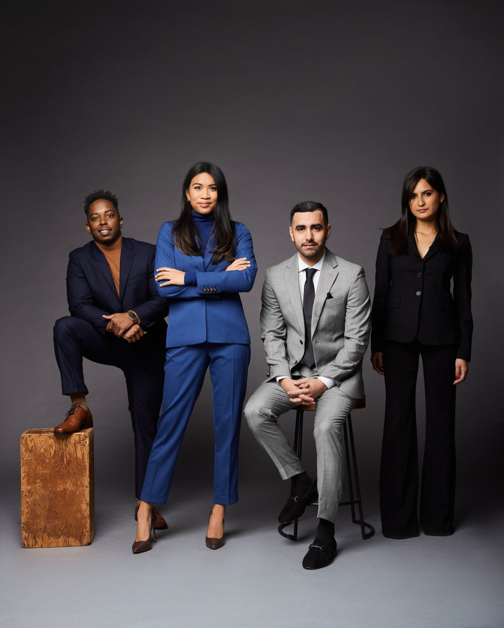 From left to right, Drop Head of sales Quincy Taylor, CEO Vanessa Gabriel, CTO Marc Lopez and CPO Jade Gabriel.