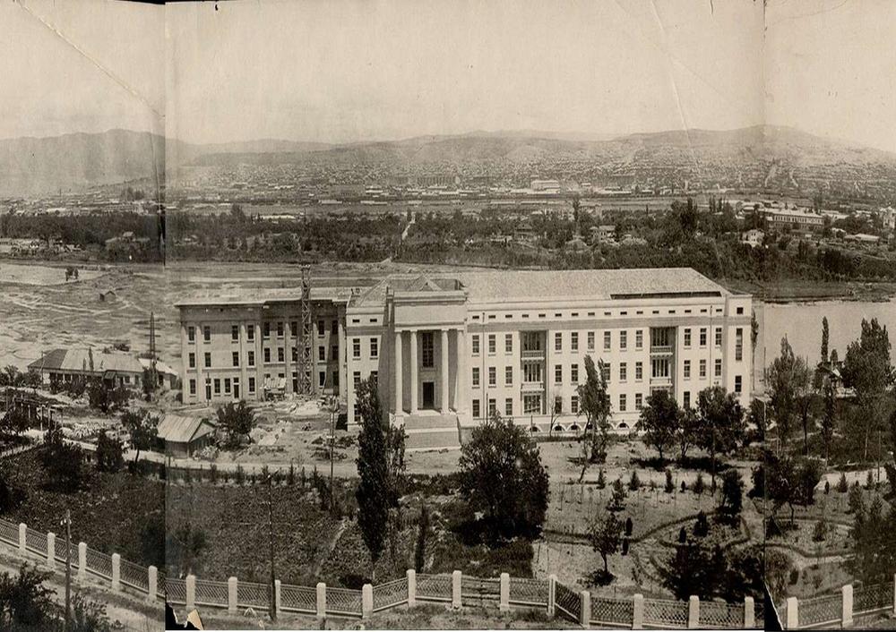 ბაქტერიოფაგის ინსტიტუტი 1934 წელი, თბილისი.