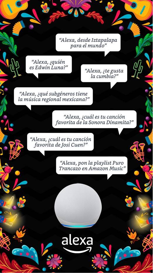 'Alexa, from Iztapalapa to the world': Amazon Music brings 'Puro Trancazo' to celebrate regional Mexican music